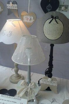 Blog et Boutique en ligne - Création d'abat-jours - Lampes - Brocante - Décoration - Cartonnage