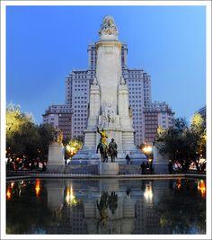 Twilight Over Plaza de España, Madrid, Spain Copyright: Gosia Siudzinska