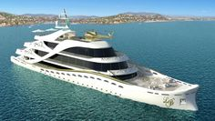 Lidia Bersani courts luxury loving women with a gold and crystal bedecked mega yacht