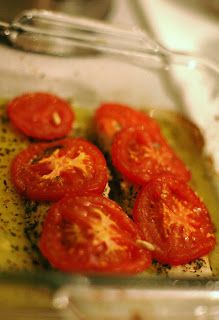 That's Damn Good!: Baked Tilapia with Tomato and Basil