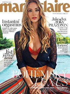 Hannah Ferguson for Marie Claire Czech July 2016 Cover