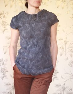 felted wool top