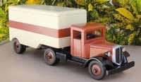 Classic Wooden Toy Truck Plans