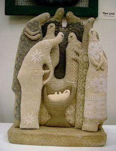 Текстильные скульптуры Татьяны Овчинниковой