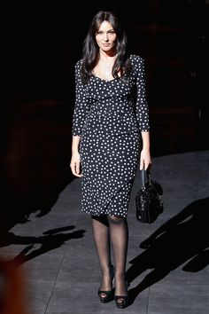 Monica Bellucci Photo - Dolce & Gabbana: Front Row - Milan Fashion Week Womenswear Autumn/Winter 2012/2013