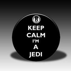 keep calm i'm a jedi!