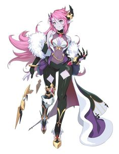 Grand Chase for kakao Ley Female Character Design, Character Design References, Character Concept, Character Art, Concept Art, Fantasy Anime, Fantasy Girl, Fantasy Characters, Anime Characters