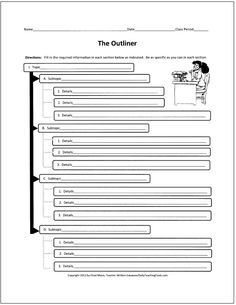 sandwich essay organizer Expository writing organizer thesis essay organizer name: outline author: keira schroepfer last modified by: college of education.