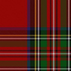 "The best known of all Scottish tartans, the 'Royal Stewart"" is the personal tartan of Her Majesty the Queen."