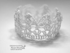 crochet crown photo props by RenaCrochetMiracles on Etsy