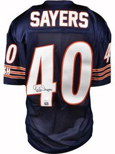 89428ce4e49 Gale Sayers Signed Custom Jersey - JSA - Sports Memorabilia #GaleSayers # ChicagoBears #SportsMemorabilia