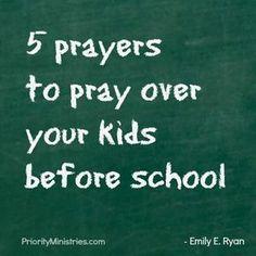 The Best of Back to School Prayer Scriptures, Bible Verses, Prayer For My Children, Young Children, Christian Women Blogs, Train Up A Child, Prayer Times, Prayer Board, Power Of Prayer