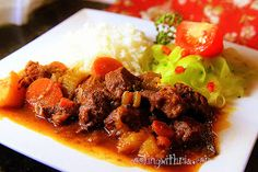 Cooking with Ria: CWR'S Trinidad-Style Stewed Lamb