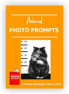 Sixteen engaging photos of animals along with descriptions and questions. Use the prompts to inspire younger students to create monologues and skits!