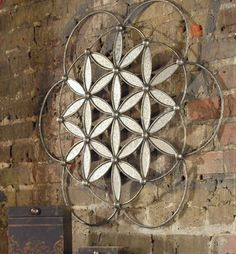 Elegant Extra Large CONTEMPORARY METAL Floral Wall Art By Home Decor Source.  $173.80. Item: