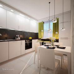 Дизайн Кухни: Летнее настроение