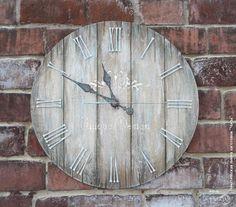 """Декупаж - Сайт любителей декупажа - DCPG.RU   """"Часы"""" № 10. Большие интерьерные часы """"Сквозь время""""."""