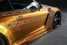 Nissan Gt R, Vinyl Wrap Car, Nissan Gtr Skyline, Automotive Group, Weird Cars, Car Makes, Car Painting, Car Pictures, Godzilla