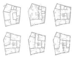 Miller Maranta, villa Garbald, floorplans.jpg (1600×1262)