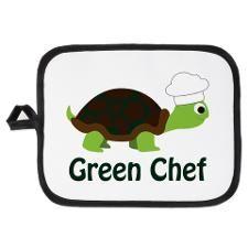 Green Chef Potholder