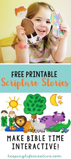 Scripture Stories Make Bible Time Interactive with FREE printable scripture story sets.Make Bible Time Interactive with FREE printable scripture story sets. Toddler Sunday School, Sunday School Activities, Sunday School Lessons, Children Activities, Children Crafts, Group Activities, Preschool Bible Lessons, Bible Lessons For Kids, Preschool Bible Crafts