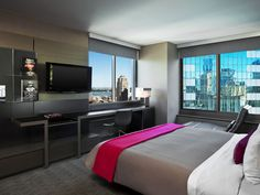 W's fifth Manhattan property is surrounded by the hustle and bustle of Times Square. Convenient to the businesses of Midtown, it also connects you to many of New Yorks main attractions including the theatres that have made this city legendary. Modern, well appointed rooms and friendly staff make this a popular choice