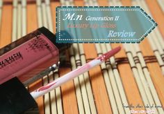 From the other side of mirror: Luxurious lips with M.N luxury Lip Gloss - Review