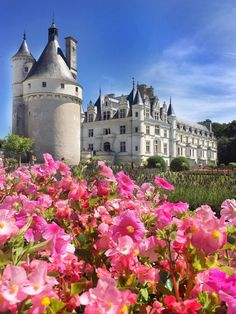 Day Trip to Loire Valley Castles: Chambord, Chenonceau, Amboise Most Beautiful Gardens, Beautiful Castles, Beautiful Buildings, Beautiful Places, Palaces, Places Around The World, Around The Worlds, Chambord Castle, Monuments