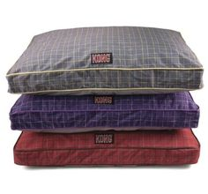 KONG Chew Resistant Heavy Duty Pillow Bed RED PLAID - http://petproduct.reviewsbrand.com/kong-chew-resistant-heavy-duty-pillow-bed-red-plaid.html