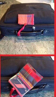 Etiquette de valise pour le calendrier de l'avent de mon globe trotter de chéri