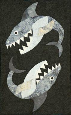 shark quilt!