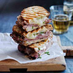 Ham and Cheese panini (recipe)