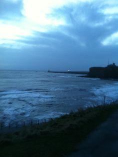 King Edward bay Tyne mouth  7.30 am Saturday 8th February 2014