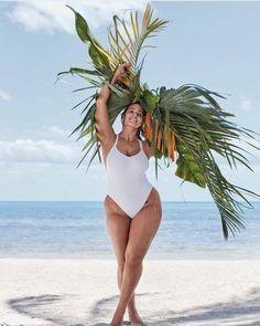 3575f03741 Sexy Plus Size Swimwear. Ashley Graham