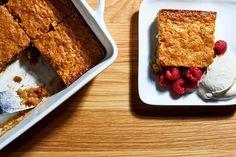 Nigella Lawson's Warm Blondie Pudding Cake Tastes Even Better Than It Sounds, dessert, breakfast Nigella Lawson, Gluten Free Desserts, Dessert Recipes, Party Recipes, Dessert Ideas, British Desserts, Recipe Finder, Cake Tasting, Pudding Cake