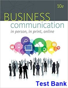 50 best test bank download images on pinterest test bank for business communication in person in print online 10th edition by newman ibsn 9781305500648 fandeluxe Images