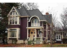 Usually Victorian houses creep me out. Not this one. Ugh I love the entryway! 1104 E Jefferson St, Bloomington, IL 61701