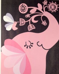 Elephant Print by Agnes Schugardt