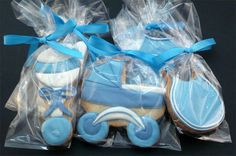 FAVORS Decorated Cookies  Baby Shower  Baby Boy by katieduran, $35.00