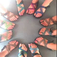 Chacos  I gotta have! (before going to the beach)