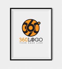 Premium 360 degree Logo for Start Ups!
