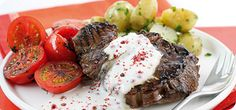 The sight and sound of the fillet steak sizzling will make you feel like a restaurant chef - and when people taste it, topped with this creamy peppercorn sauce, they'll think you are a restaurant chef!