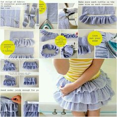 23 Trendy Sewing For Beginners Patterns Skirt Tutorial Diy Clothing, Sewing Clothes, Clothing Patterns, Fashion Kids, Diy Fashion, Sewing For Kids, Baby Sewing, Diy Vetement, Creation Couture