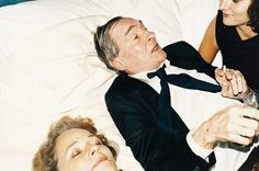 Charlotte Rampling & William Eggleston by Juergen Teller for Marc Jacobs