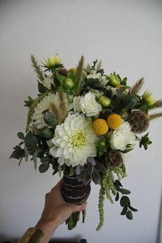 Honey of a Thousand Flowers - Journal   Green/White/Yellow Wedding Bouquet