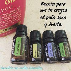 Para un pelo sano, largo y fuerte agrega en tu shampoo: *20 gotas de #melaleuca…