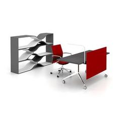 Haworth - Idea Starter 75 - Design Intent: Open, Mobile, Personal Control, Conceptual, Freestanding by Haworth Inc.