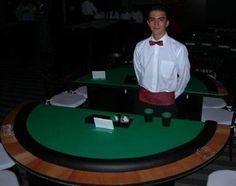 """Mesa de póker """"Cubilete""""."""