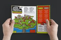 cool Christian Festival Trifold Brochure  CreativeWork247 - Fonts, Graphics...