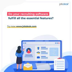 It's been seen that there are lots of Recruiting software available on the internet. But most of those aren't really features fulfilled! But you're paying already for those right? Well, now jobdesk® has come up with all the features you need to conduct all of your HRM, Hiring, etc processes. Try this now, absolutely FREE! 👉 Sign up: www.jobdesk.com #jobdeskcom #jobdesk #recruitersplatform #chakri #jobs #circular #globalrecruitment #gobalrecruitingplatform